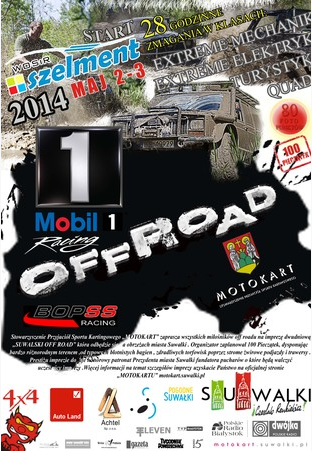Suwalski OFF ROAD – 2-3.05.2014