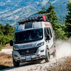 Fiat Ducato 4×4 Expedition – kamperem w dziki teren